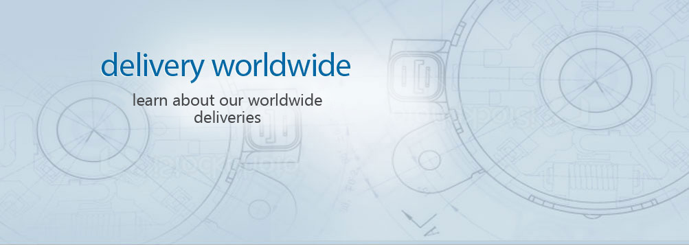 delivery worldwide - learn about our worldwide deliveries
